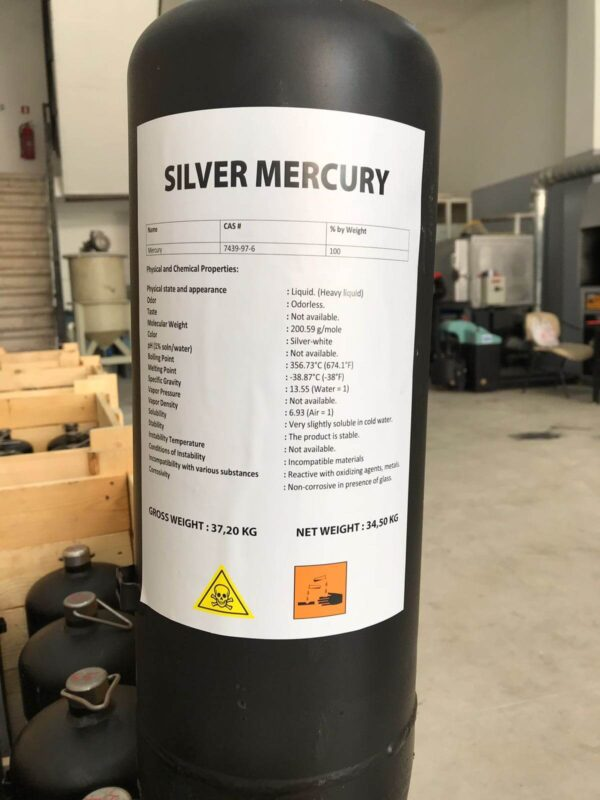 Mercury for gold mining | www.hippocampus.ee