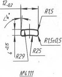 Titanium profile for medical implants (Bone Screws/Plates, Spine, etc.) #4111