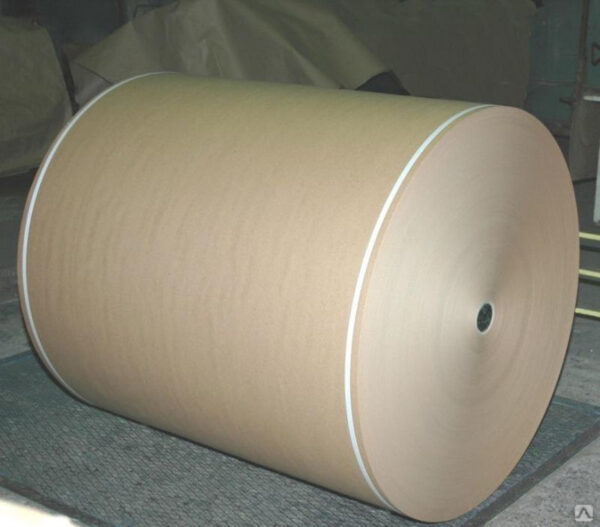 Cardboard paper at premium quality from natural 100 % cellulosic fibers, for production corrugated board of high strength and quality,