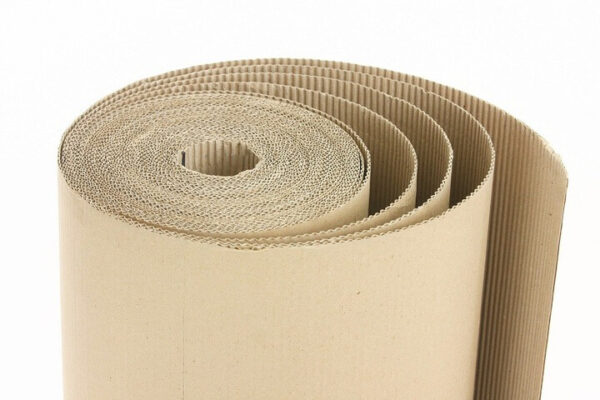 Fluted paper is the middle liner of corrugated board