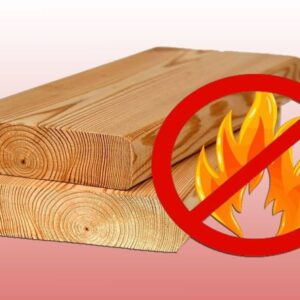 Fire retardant for wood treatment