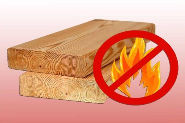 Fire retardant for wood treatment