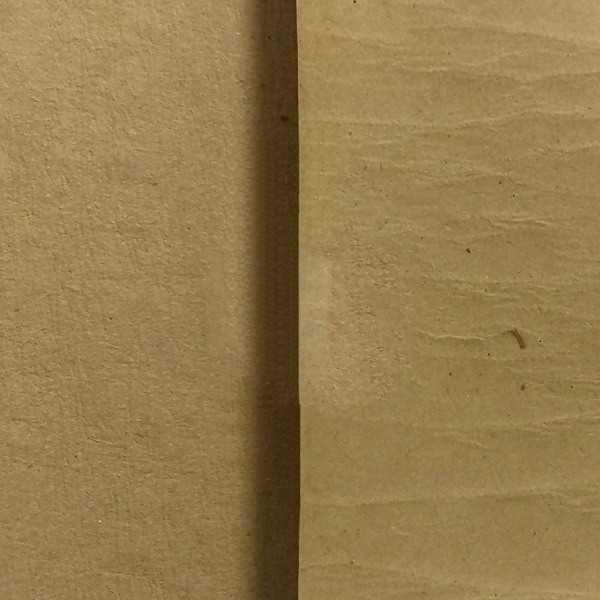 Polymer coating anti-corrosive crepe paper