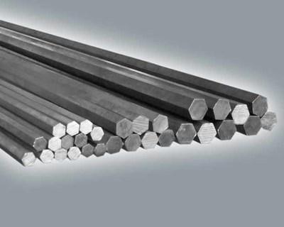 Titanium hexagonal, calibrated, cold rolled