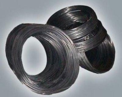Titanium unalloyed rod for surgical implants