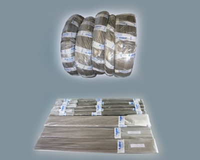 Titanium wire for rod for medical, nuclear, power mechanical engineering, shipbuilding industry
