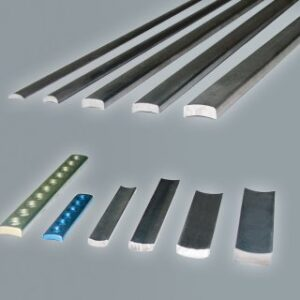 Titanium arc profiles for osteosynthesis plates