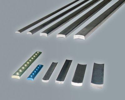 Titanium arc profiles for osteosynthesis plates